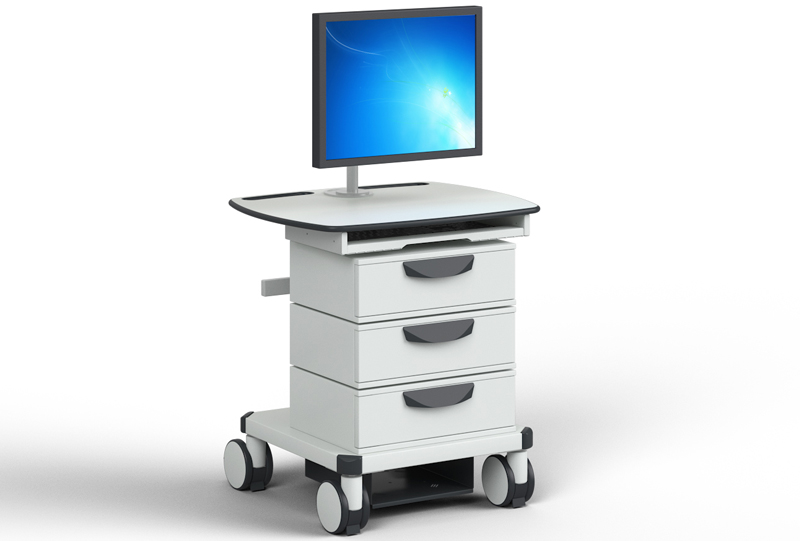 The product image shows Knürr SynergyCart