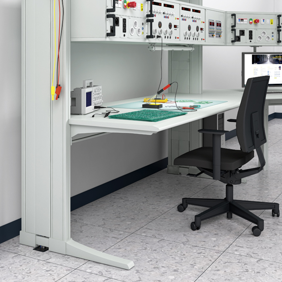The product image shows Knürr Elicon electronic workstation