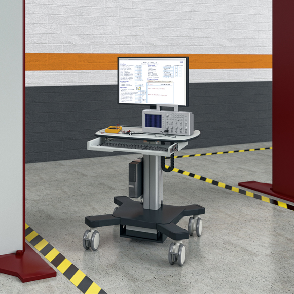 The product image shows Knürr SynergyCart Advanced