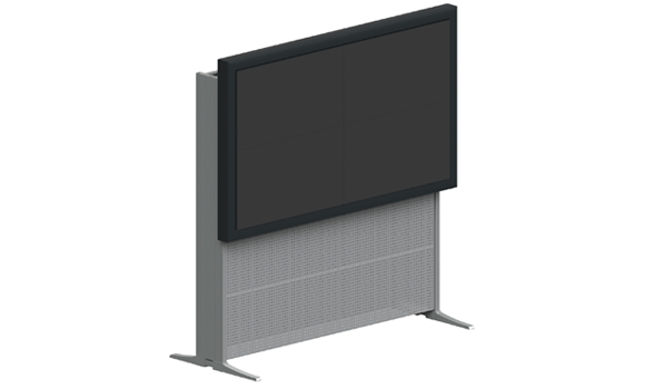 The product image shows Knürr Videowall