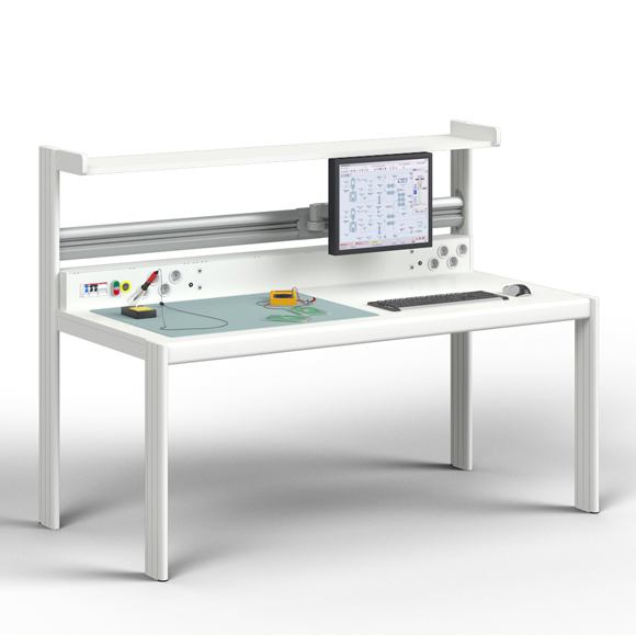 The product image shows Knürr Dacobas Electronic Workstation