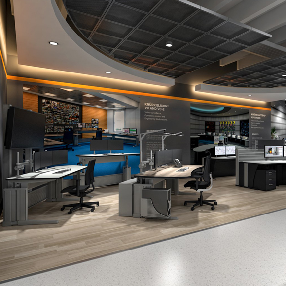 Knürr Consoles VR Showroom
